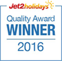 Jet2holidays Quality Awards 2016